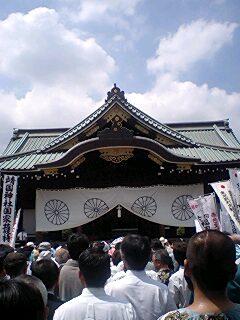 8・15靖国神社7