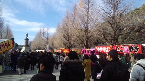 2011初詣・靖国神社4