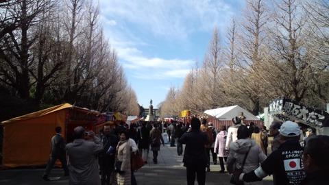 2011初詣・靖国神社6