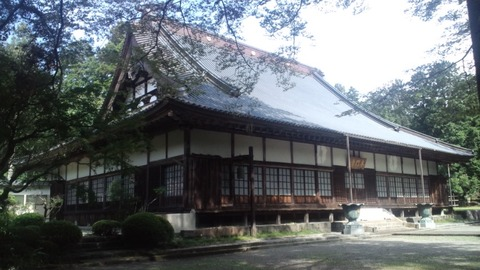 西山本門寺12客殿