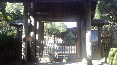 寿福寺10立ち入り禁止