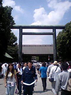 8・15靖国神社1