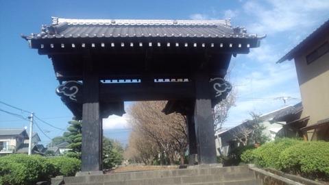 小泉久遠寺19黒門