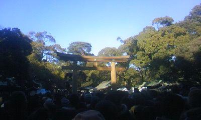 明治神宮初詣7