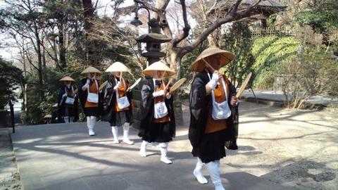 妙本寺12行道僧