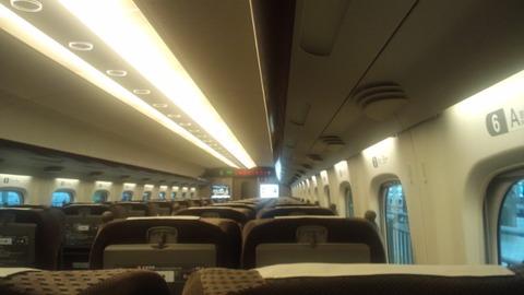 N700のぞみグリーン席3