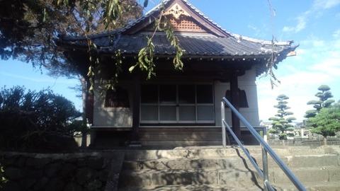 小泉久遠寺11本堂
