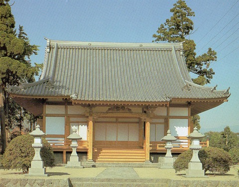 富士妙蓮寺13日華堂