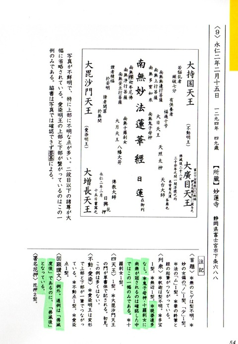 5・永仁2年2月15日の本尊2