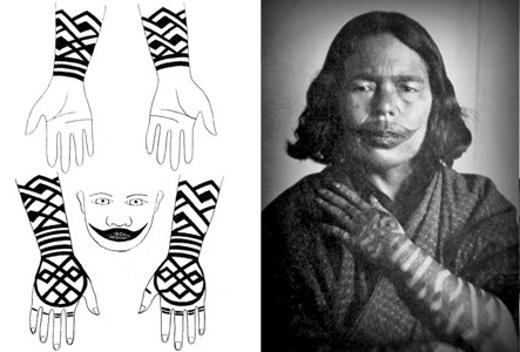 Ainu Tattoos