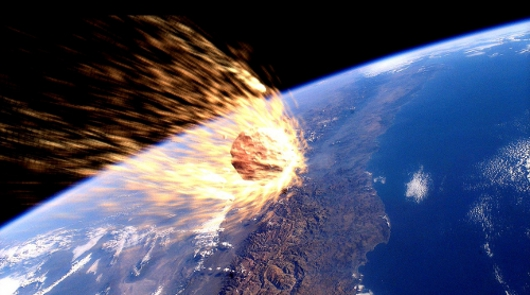 Asteroid-impact-event