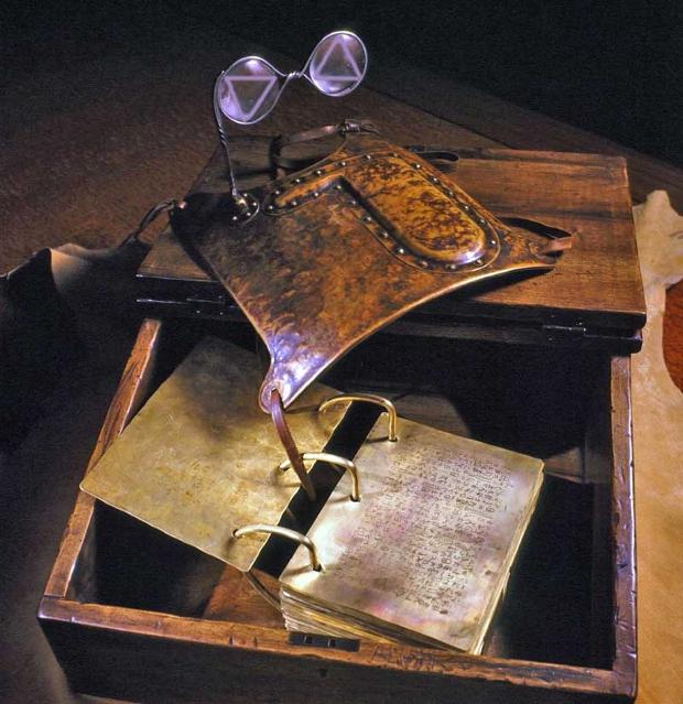 Golden Plates Urim+Thummim