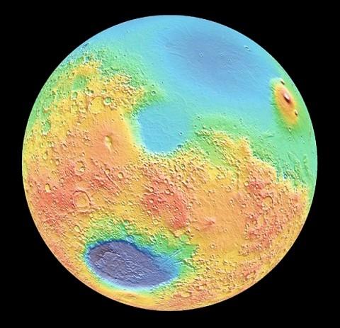 Borealis-Crater-Mars