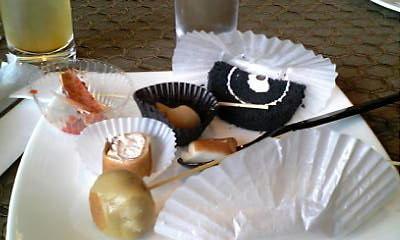 色々な試食品