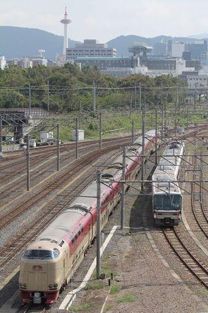 285系寝台電車サンライズ出雲93号