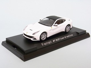 Colourful Model Ferrari F12 berlinetta