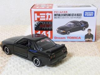 DREAM TOMICA #141 INITIAL D SKYLINE GT-R(R32)