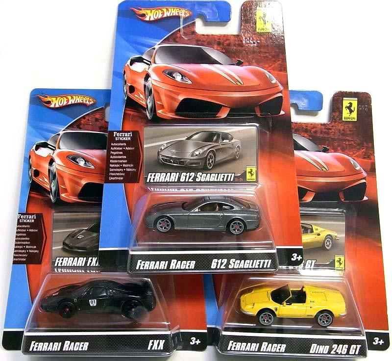 Hot WHeeLs FERRARI RACER/ホットウィール フェラーリレーサー '09第3弾・・・ : [限
