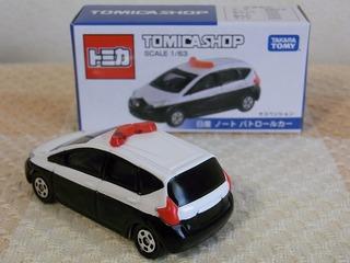TOMICA SHOP ORIGINAL NOTE Police Car