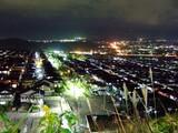 うちの近くの夜景です。