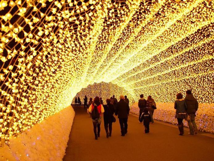 光のトンネル 1