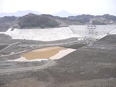 竹田ダム散策 湖底の様子