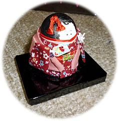 ヨウム玉子人形2