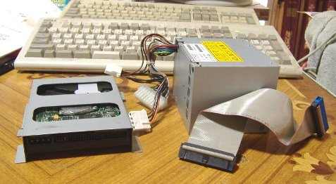 ハードディスクと電源