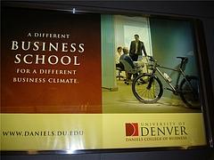 dean photo at Denver airpot colorado business schl