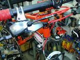 Dean Colonel XTR orange enlarged frontview