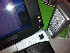 DATA01と指紋認証の干渉
