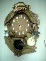 トトロの時計