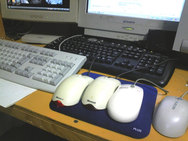 4匹のネズミ