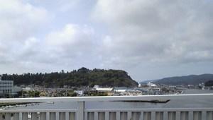 未確認飛行物体を写した日和山
