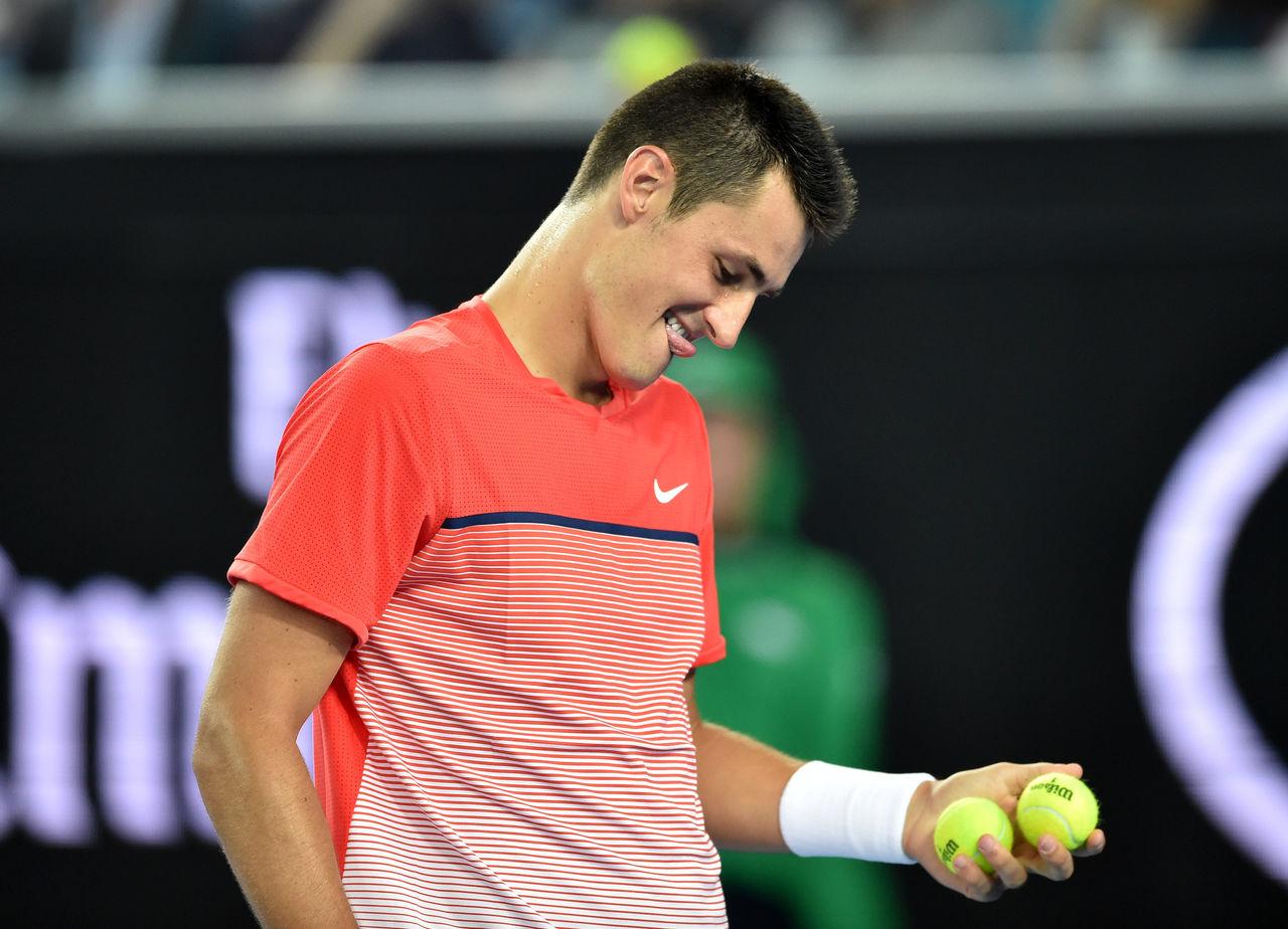 【テニス】『言い訳王』に「ピーナツ大の器」、豪でトミックに痛烈批判
