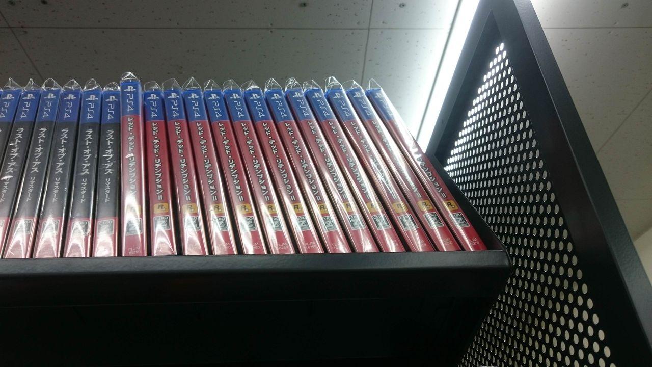 【悲報】RDR2さん、ブックオフで中古の山を築いてしまう