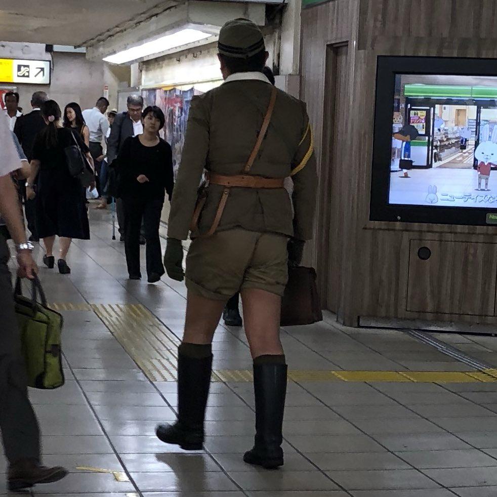 【悲報】上野駅に引き揚げ帰還兵