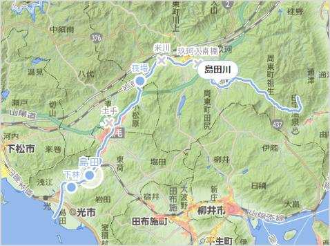 島田川水位ポイント