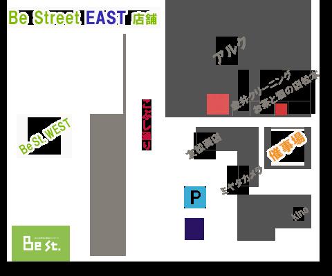 BeStreetEast催事場