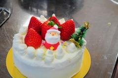 クリスマスケーキ教室里の厨_024