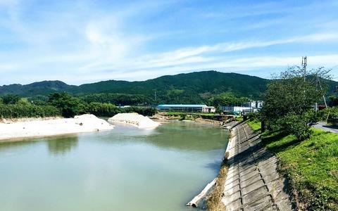 島田川木下橋修復工事
