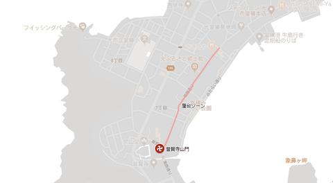 普賢まつりマップ