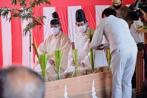 献穀米抜穂式2021-46