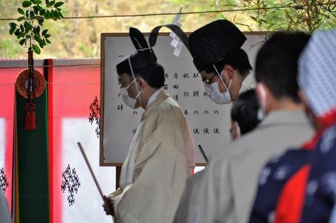 新嘗祭お田植式小林農林2021-52