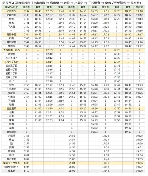 防長バス(光市役所-高水)201804