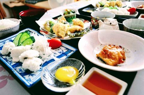 ハモ御膳_風鈴亭金魚-10