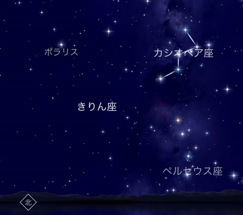 ペルセイウス座starwalk