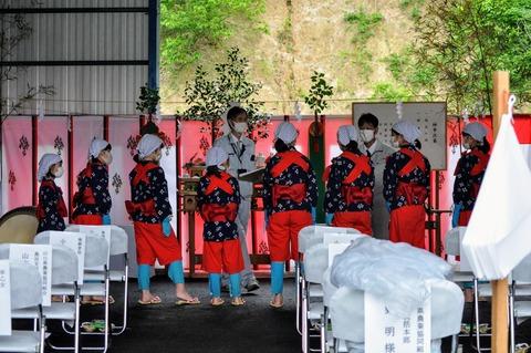 新嘗祭お田植式小林農林2021-33