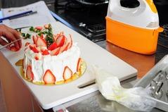 クリスマスケーキ教室里の厨_027