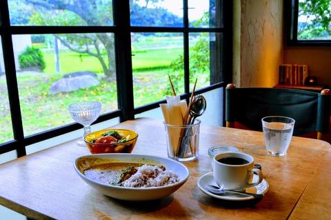 moiカフェ豆カレーセット